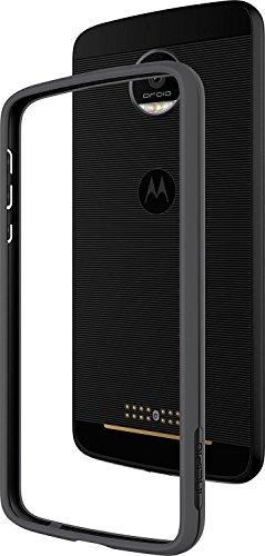 Incipio Motorola Moto Z Co - Molded Bumper Case - Black