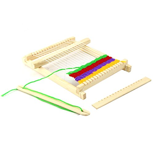 Wooden DIY Handloom Loom Toy Weaving Tool - 3