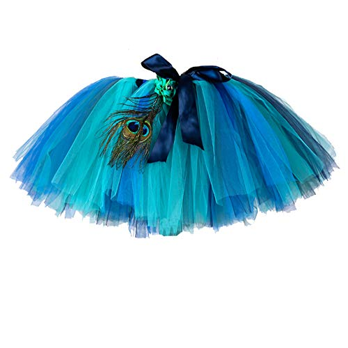 Women Peacock Tulle Tutu Skirts Free -