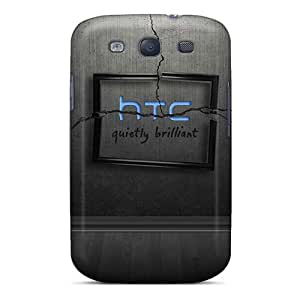 AGX1474bHUo Snap On Case Cover Skin For Galaxy S3(htc Home Blue)