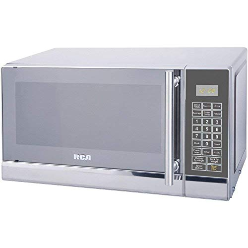 Rca Rmw741 .7 Cubic-Ft Stainless Steel Microwave 19.00in. x 14.70in. x 11.50in Dmd