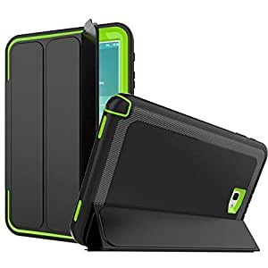 For Samsung Galaxy Tab A 10.1 T580 Kids Safe Shockproof TPU Cover Armor Hybrid 360 full protection