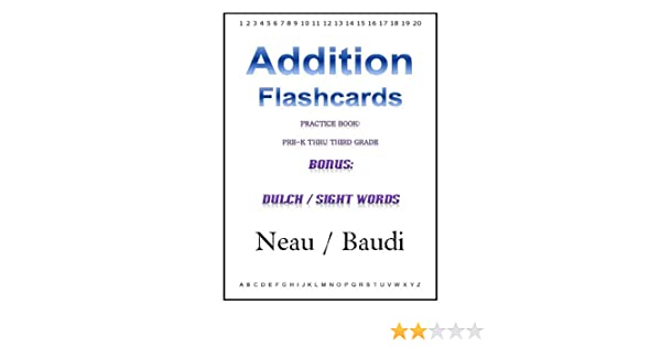 Amazon.com: Addition Flashcards eBook: Neau Baudi: Kindle Store