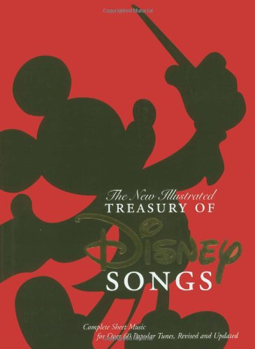Treasury of Disney Songs: Complete Sheet Music for Over 60 Popular Tunes (Record Voice Over Music)