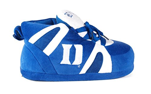 Blue Devils and LICENSED Womens NCAA College Duke Slippers Sneaker OFFICIALLY Happy Men's Feet gaPqxOB
