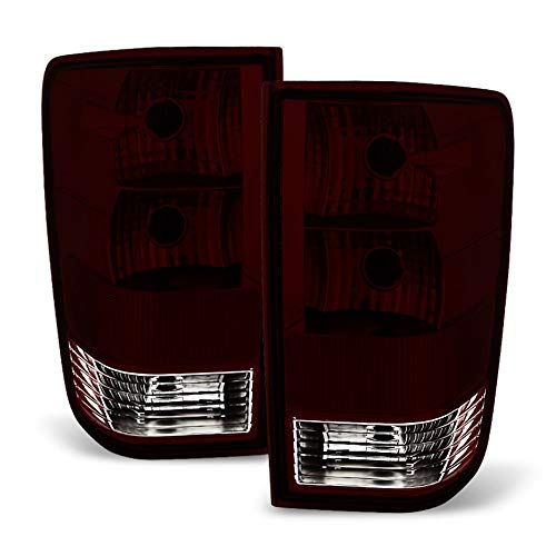 Nissan Titan Tail Lamp - ACANII - For Smoked 2004-2015 Titan Pickup Truck Tail Lights Brake Lamps Left+Right 04-15