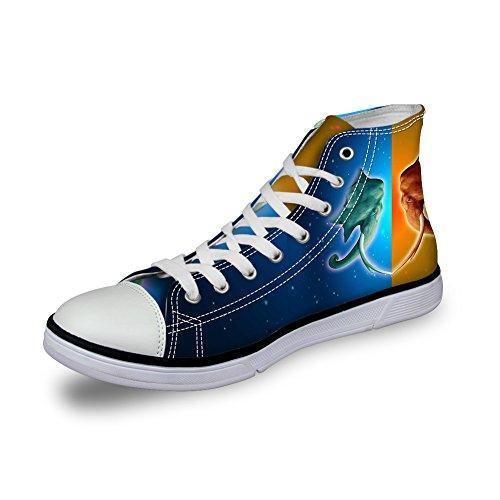 アルコーブアスリート夫婦ThiKin スニーカー キャンバス シューズ 帆布 個性的 かわいい 動物 柄 シンプル 3Dプリント カジュアル 靴 軽量 通気 おしゃれ ファッション 通勤 通学 プレゼント