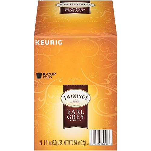 Twinings of London Earl Grey Tea K-Cups for Keurig, 24 Count (Pack of 1) - Packaging May Vary (Best Places For Tea In London)