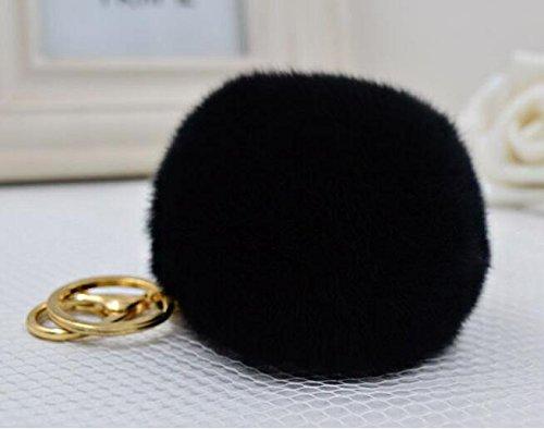 Cy3Lf Plated Fluffy Keychain Handbag product image