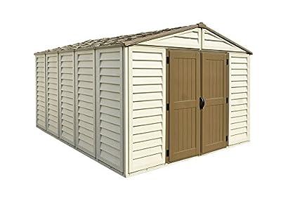 Duramax Building Products WoodBridge Plus 10.5 ft. x 13 ft. Vinyl Storage Shed