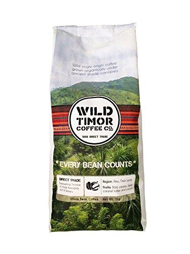 Furnish WINING Australian Coffee - Wild Timor Coffee. Wild Organic Whole Bean Coffee. Direct Trade from East Timor, 1 kg (2.2lb).