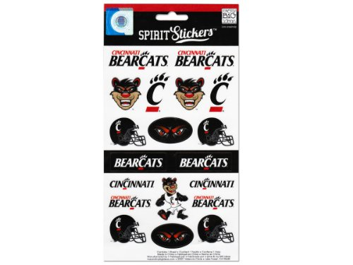 me & my BIG ideas Officially Licensed NCAA Spirit Stickers, Cincinnati ()