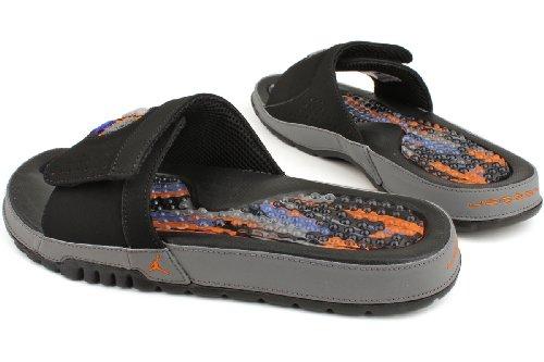 3ca904d9e6b509 Nike Air Jordan Hydro VIII Mens Flip Flops 385073-022 Black 12 M US ...
