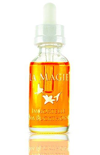 La Magie Organic Rose Skin Serum w/Rosehip, Rose, Immortelle & Sea Buckthorn for Beautiful Skin $3 Off with Code LaMagie7