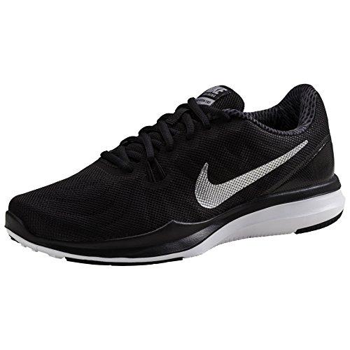 9 black Tennis Nike metallic Chaussure Zoom Noir Vapour Silve 001 De Tour ExBU8xq