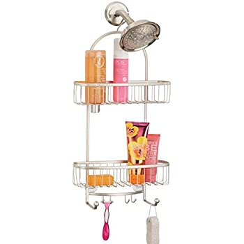 Mdesign Wide Shower Caddy Storage For Shampoo Conditioner Soap