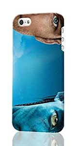 Jake Sully - Avatar Pattern Image - Protective 3d Rough Case Cover - Hard Plastic 3D Case - For iPhone ipod touch4