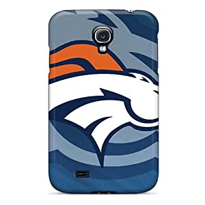 SHiNiNG Case Cover Protector Specially Made For Galaxy S4 Denver Broncos