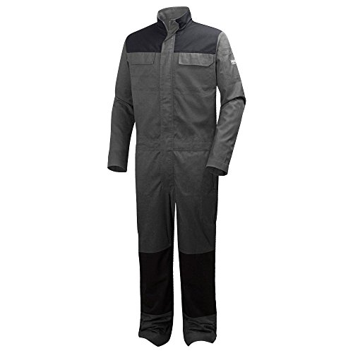 76667_979-C56 Overall''Sheffield'' Size In C56, Black/Grey by Helly Hansen (Image #1)