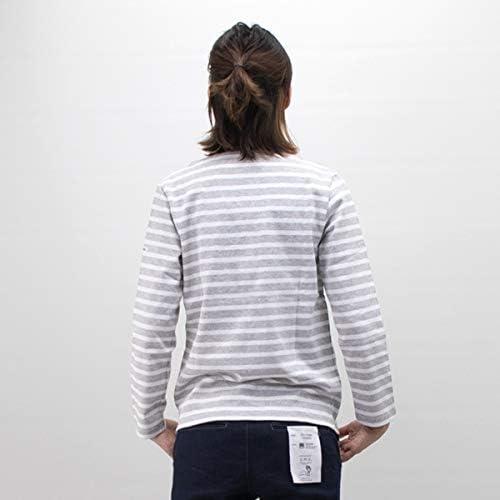 オーシバル レディース COTTON LOURD SOLID バスクシャツ L/S[B211]