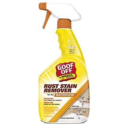 goof apagado psx20004 baño óxido – Spray quitamanchas (Gel, (Spray 16-Ounce