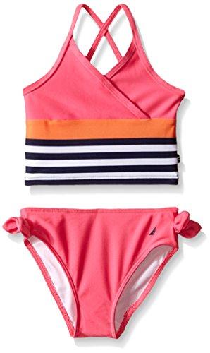 Nautica Little Girls Stripe Tankini