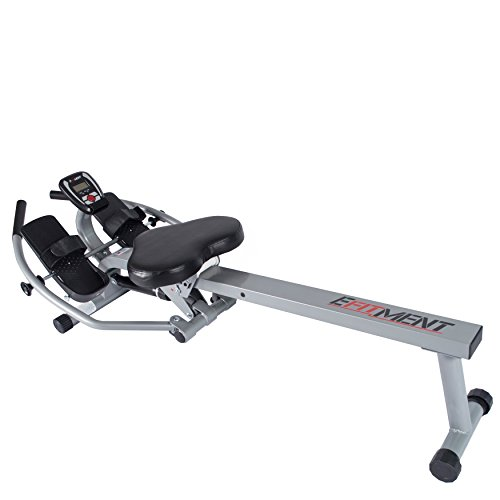 EFITMENT Total Motion Rowing Machine Rower with Full Arm Extensions, 350 lb Weight Capacity and Cell/Tablet Holder - RW032 by EFITMENT (Image #6)