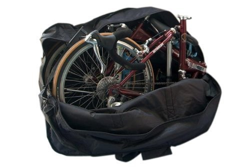 StillCool Bike Travel Bag Case Box Thick Bicycle Folding Carry Bag Pouch,Bike Transport Case for Transport,Air Travel,Shipping (14-inch to 20-inch) (Bike Travel Suitcase)
