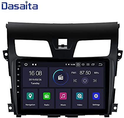 Dasaita Android 9 0 Car Stereo for Nissan Teana Altima Gps Navigation Radio  with 10 2 Inch Screen 2G Ram Head Unit with Dash kit