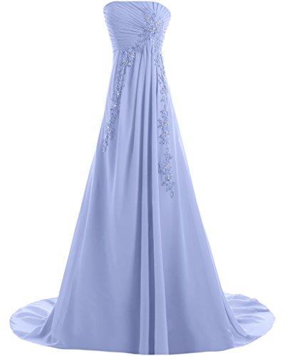 Missdressy - Vestido - trapecio - para mujer azul celeste 44