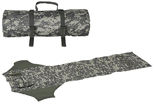 - Ultimate Arms Gear ACU Army Digital Camo Deluxe Roll Up Shooter's Shooting Sniper Hunting Protective Padded Mat with Ammo Shell Cartridge Bullet Holder & Pocket Pouches