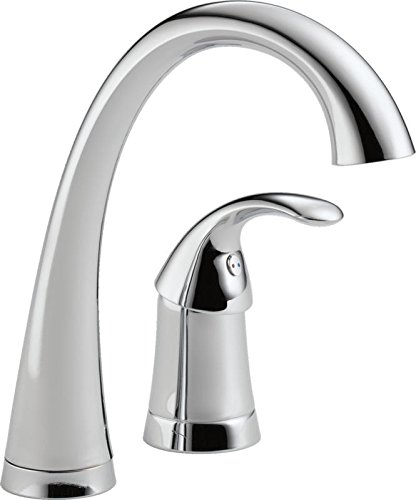 (Delta 1980-DST Pilar Single Handle Bar/Prep Faucet, Chrome)