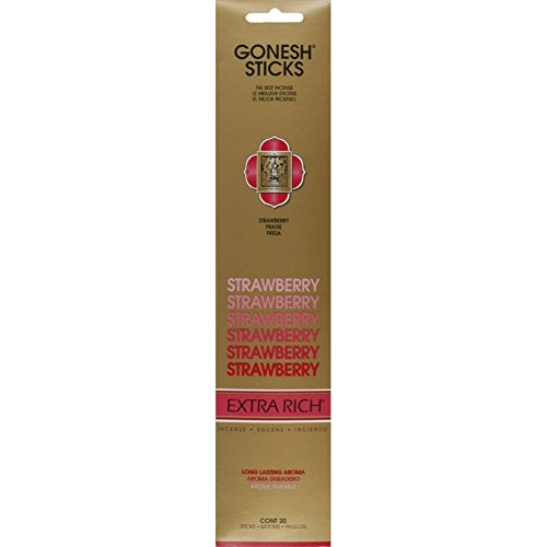 Gonesh Collection Strawberry-Extra Rich Incense
