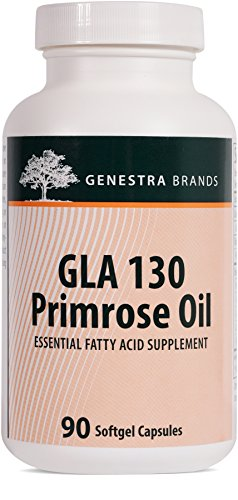 Genestra Brands - GLA 130 Primrose Oil - Essential Fatty Acid Formula - 90 Softgel Capsules