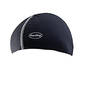 Fashy Unisex's Thermo swim cap, black