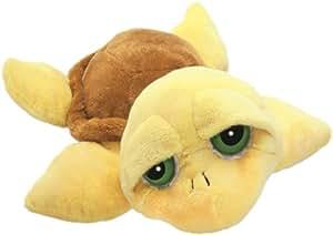 Lil'Peepers 14000 Pebbles - Tortuga de peluche (15 cm), color amarillo