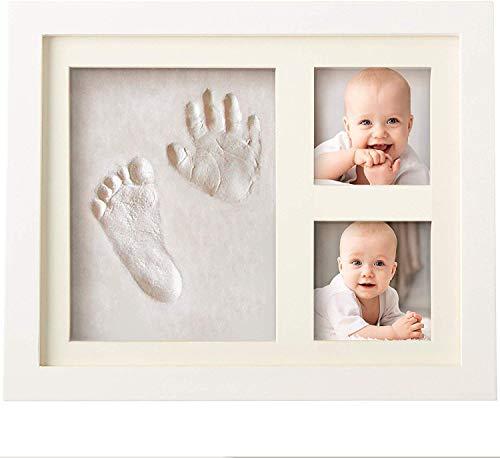 Baby Handprint and Footprint Makers Kit Keepsake For Newborn Boys & Girls, Baby Girl Gifts & Baby Boy Gifts, New Mom…