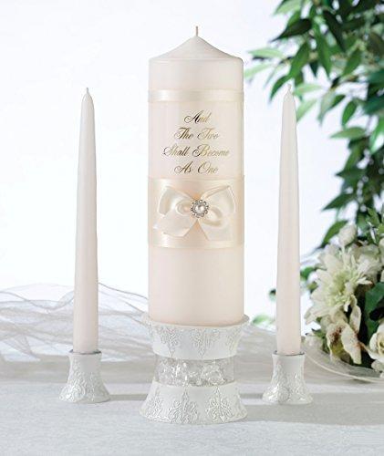 Satin Bow Unity Candle - 1