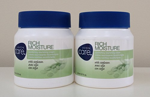 Lot of 2. Avon Care Rich Moisture with Soybean