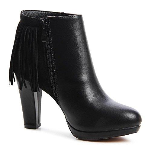 topschuhe24 Plateau Bottines nbsp;Femme pour 638 Boots femme Ankle wXHxTXq