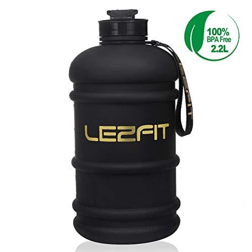 Sports Water Bottles Jug 2.2L Big Large Capacity BPA Free Leakproof Half Gallon