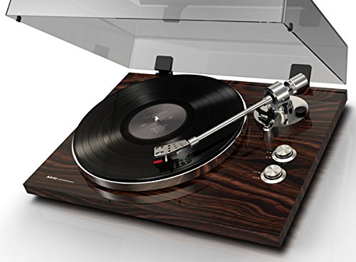 Akai-Professional-BT500-Premium-Belt-Drive-Turntable-with-Wireless-Streaming-DC-Motor-Leveling-Feet-Walnut-Finish