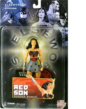 Elseworlds Series 1 Action Figure Wonder Woman Dc Direct Elseworlds Series