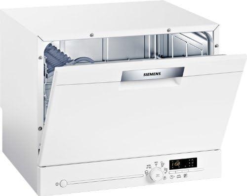 Siemens SK25E200EU - Lavavajillas compacto (A+ AB, 6 litros, 0,62 ...
