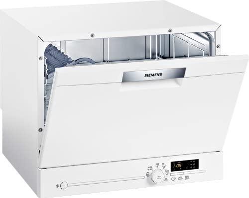 Siemens SK25E200EU - Lavavajillas compacto (A+ AB, 6 litros, 0,62 kWh, 55,1 cm), color blanco