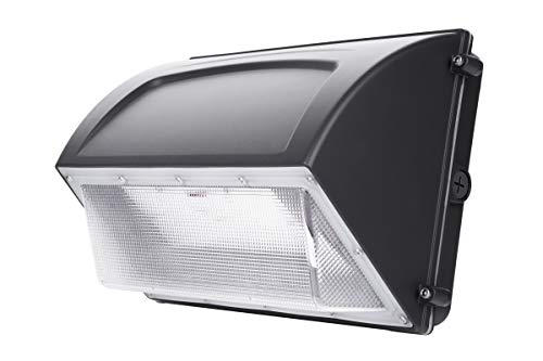 Hyperikon 60W LED Wall Pack, IP65, HPS/HID Replacement, 5000K, 7200 lumens, Outdoor, Garage, Warehouse Light