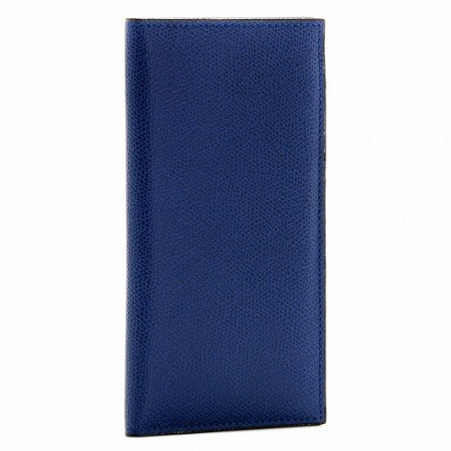 Valextra(ヴァレクストラ) 財布 メンズ グレインレザー 2つ折り長財布 ロイヤルブルー V8L21-028-00RO[並行輸入品] B00FXM6N5G