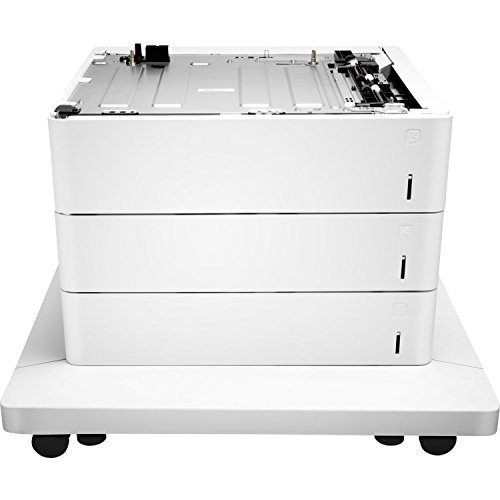 Hp P1b11a Paper Feeder And Stand   Media Tray   Feeder   1650 Sheets In 3 Tray S    For Color Laserjet Enterprise M652  M653  Laserjet Enterprise Flow