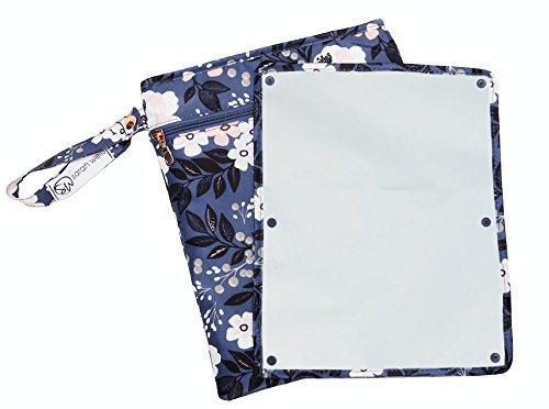 Sarah Wells Pumparoo Wet/Dry Bag for Breast Pump Parts (Le Floral)
