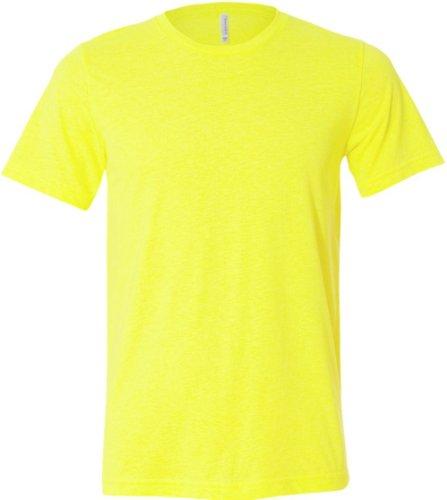 Unisex Poly-Cotton T-Shirt - Farbe: Neon Yellow - Größe: S